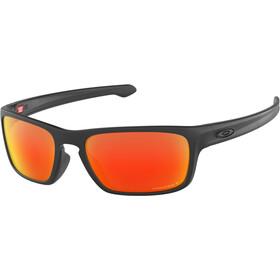 Oakley Sliver Stealth Sunglasses matte black/prizm ruby polarized